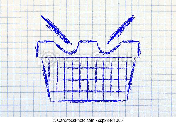 funny shopping cart design