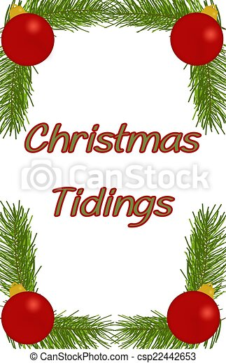 Christmas Tidings - csp22442653