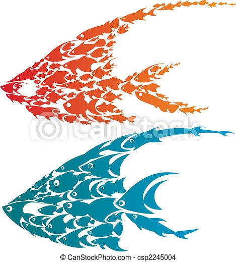 creative fish - csp2245004