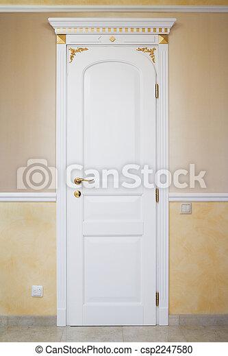 Banco de fotografia de branca porta ornamento modernos for Portas de apartamentos modernas
