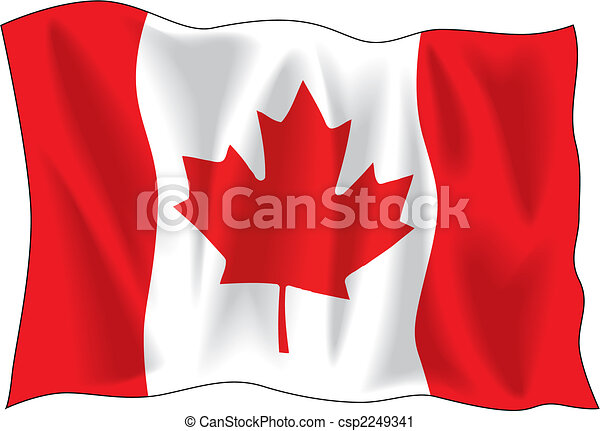 Canadian flag - csp2249341