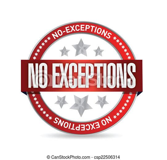 No Exceptions | Craig T. Owens