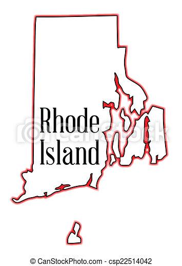 Rhode Island Clipart Logo