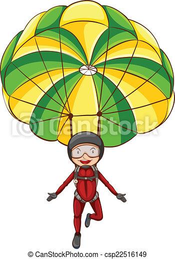 EPS Vector of Parachute
