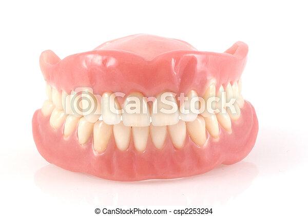 Dentures. - csp2253294