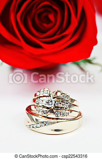 Wedding Ring in Rose, Will you marry me?