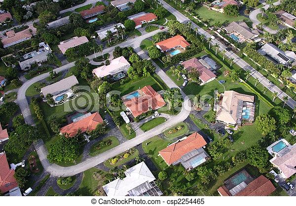 Miami Aerial - csp2254465
