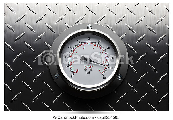 Pressure gauge still life - csp2254505