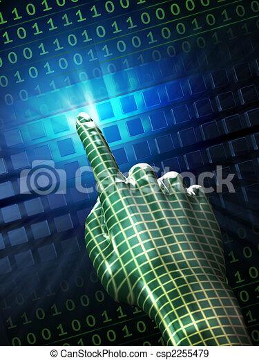 Digital touch - csp2255479