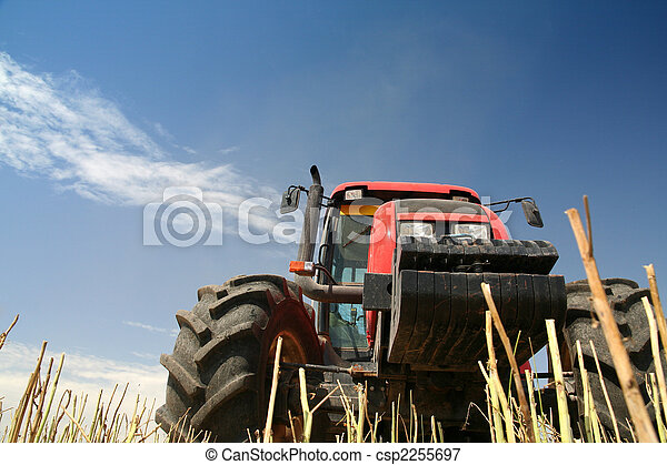 Agriculture - Tractor - csp2255697