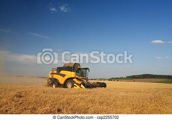 Agriculture - Combine - csp2255702