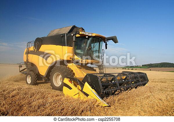 Agriculture - Combine - csp2255708