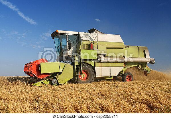 Agriculture - Combine - csp2255711