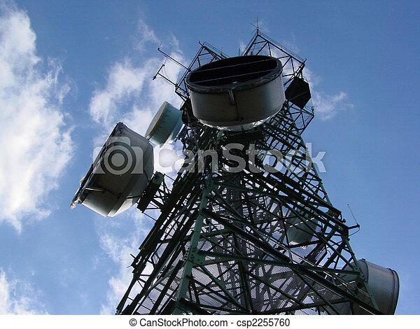 Kommunikation, Turm - csp2255760