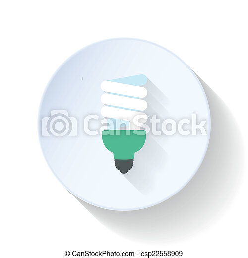 Clipart Energy Saving Energy Saving Light Bulb Flat