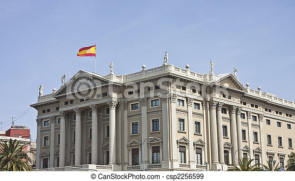 Spanish Government Building - csp2256599