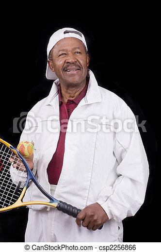Active senior citizen - csp2256866