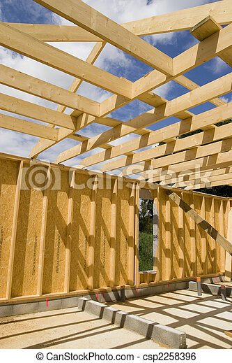 wooden contruction - csp2258396
