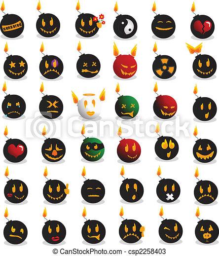Bomb emotions - csp2258403