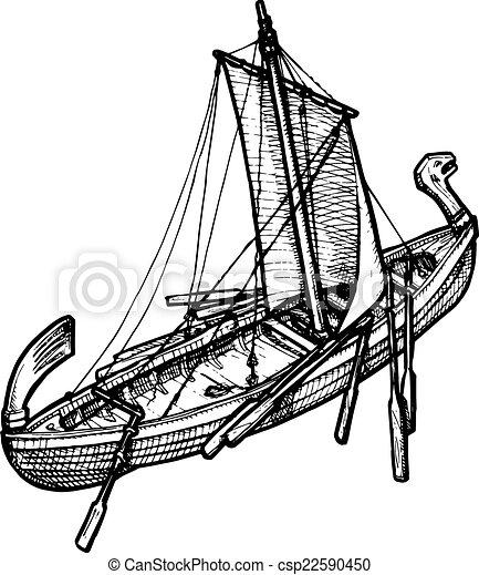old ship - csp22590450