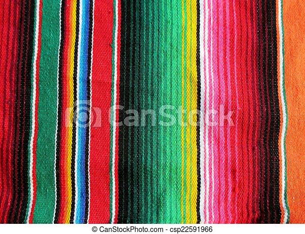 cinco de mayo mexican background fiesta handwoven rug fiesta - csp22591966