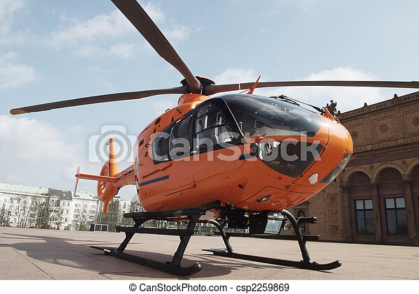 rescue helicopter - csp2259869
