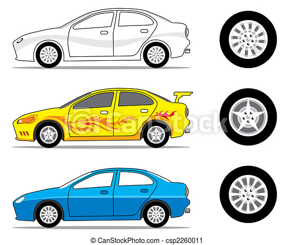 Car Side View - csp2260011