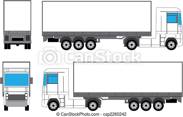 Truck for branding - csp2260242