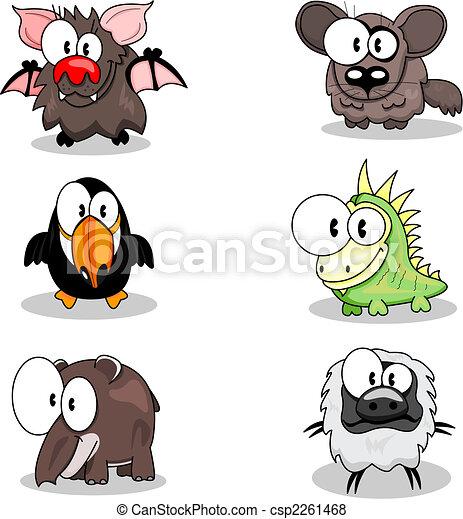 Cartoon animals - csp2261468