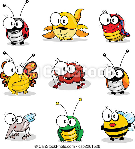 Cartoon insects - csp2261528