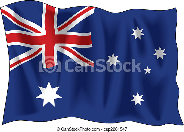 Australian flag - csp2261547