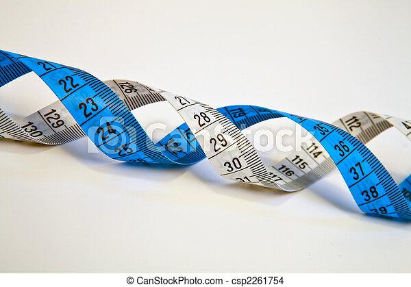 A DNA helix. - csp2261754