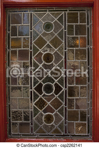stained glass pub window - csp2262141