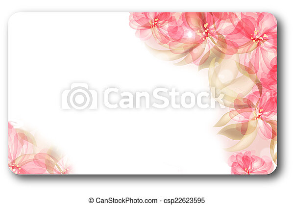 Gift or business card template.