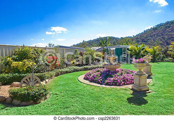 Landscaped gardens - csp2263631