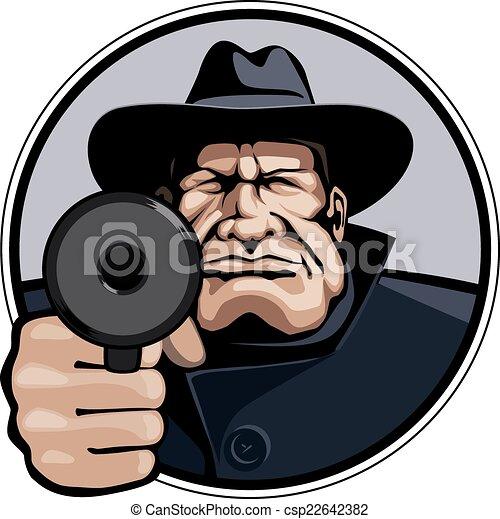 Gangster - csp22642382