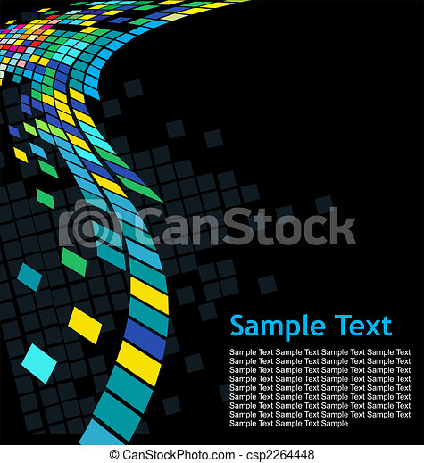 Abstract mosaic background - csp2264448