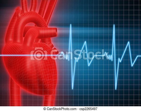 human heart - csp2265497