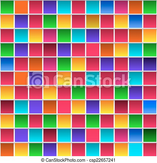 Rainbow Colors Logos Rainbow Colored Squares
