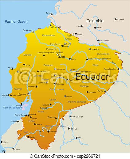 Ecuador country - csp2266721