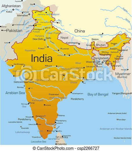 India country - csp2266727