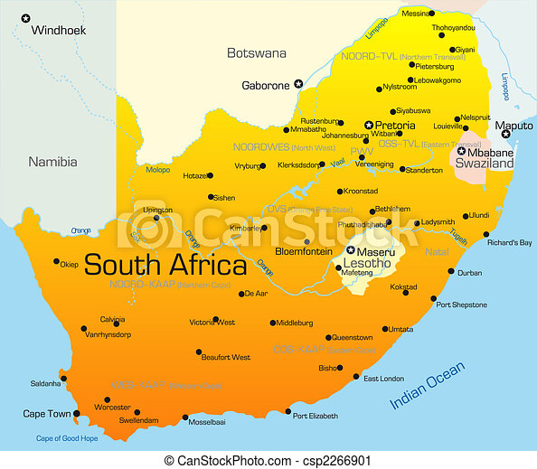 South Africa country - csp2266901