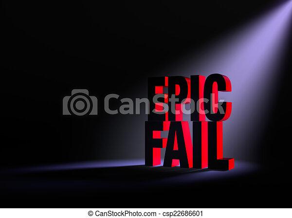 Epic Fail Clipart an Impending Epic Fail