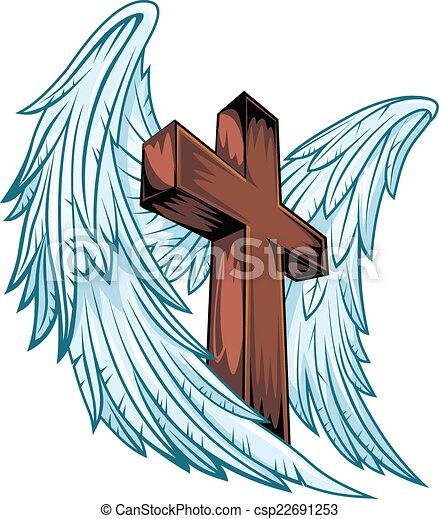 Wooden cross illustrations and clipart   Can Stock Photo