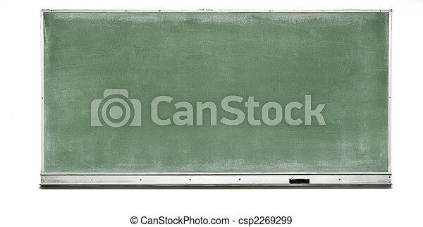 Green Chalk Board - csp2269299