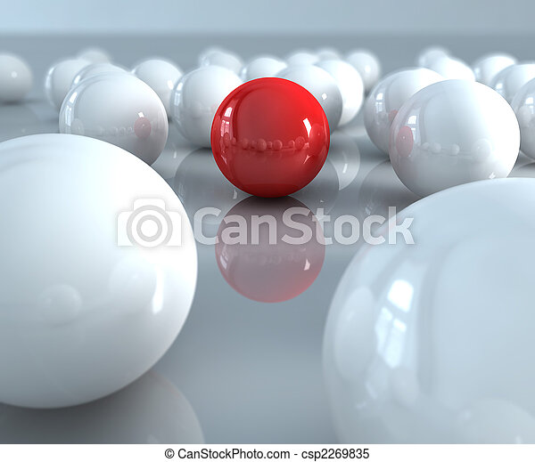 Red ball - csp2269835