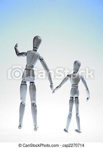 Parenting - Manikins - csp2270714