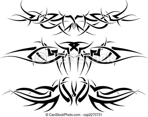 tattoos set - csp2270731