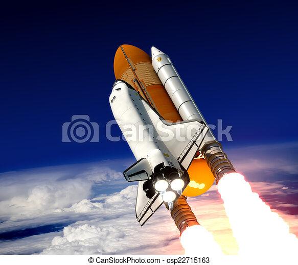 Space Shuttle Launch  - csp22715163
