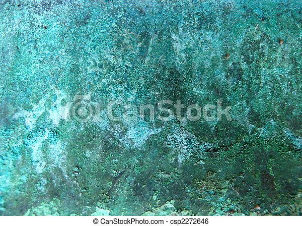 copper metal corrosion - csp2272646